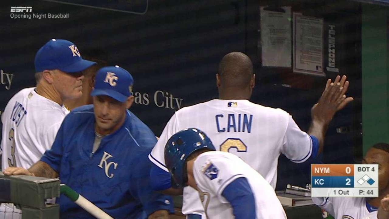 Vólquez, Reales se llevaron la noche contra Mets