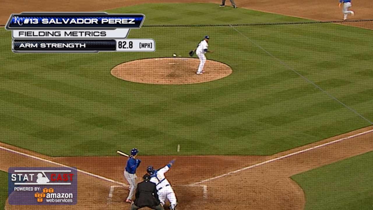 Statcast: Perez nabs Conforto
