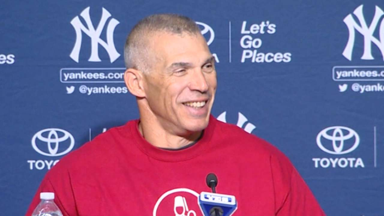 Girardi using camera time to promote charities