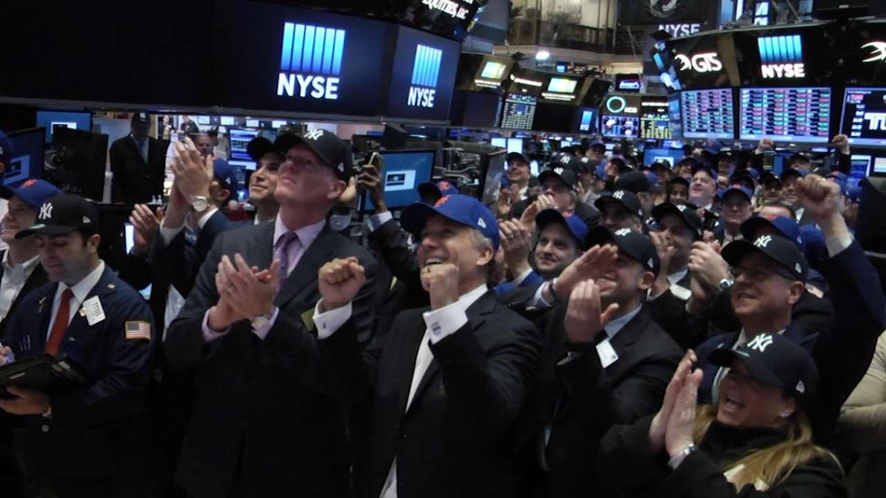 Nelson, Ojeda #CapsOn at NYSE