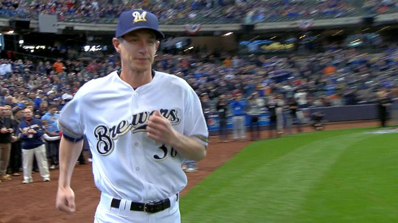 Counsell, Brewers introduced