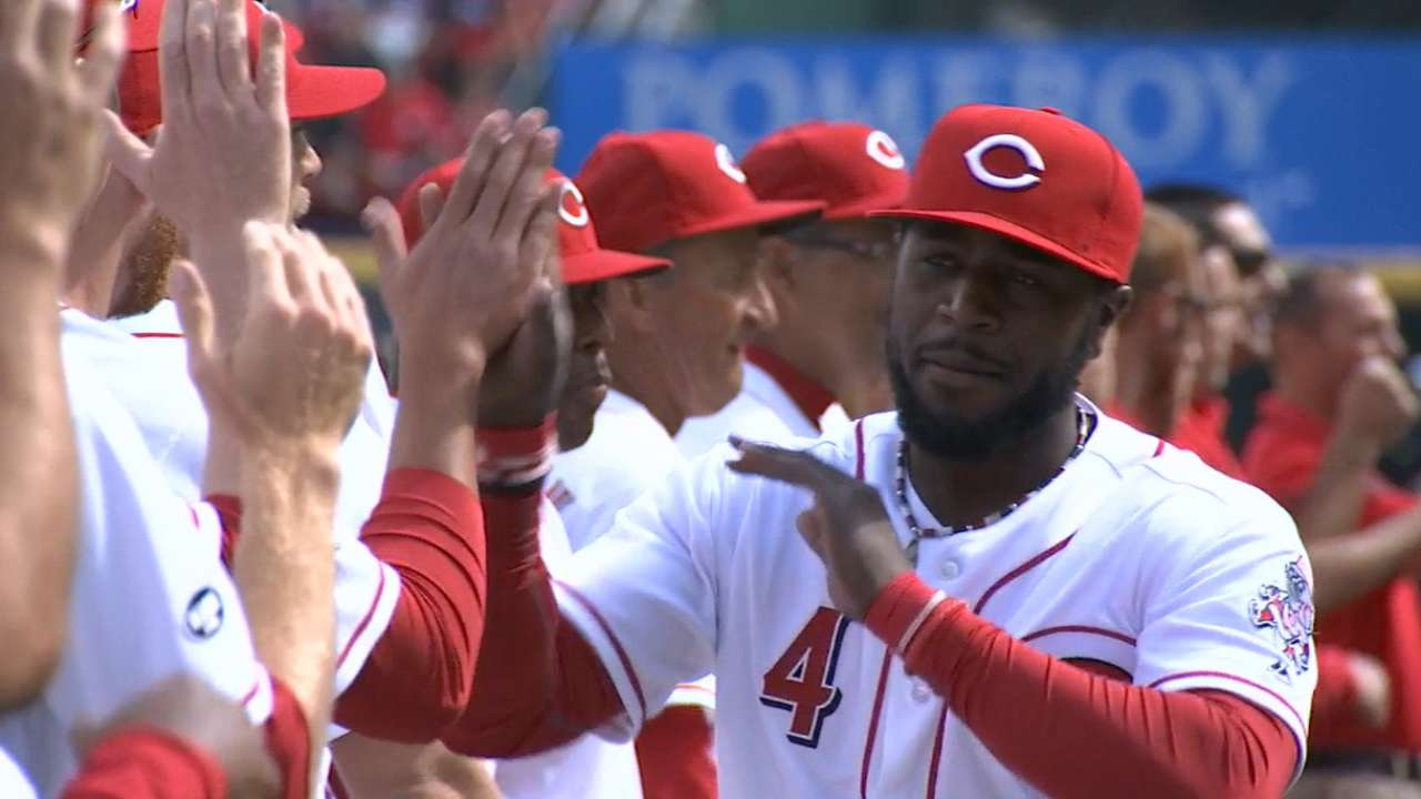 Price, Reds starters introduced