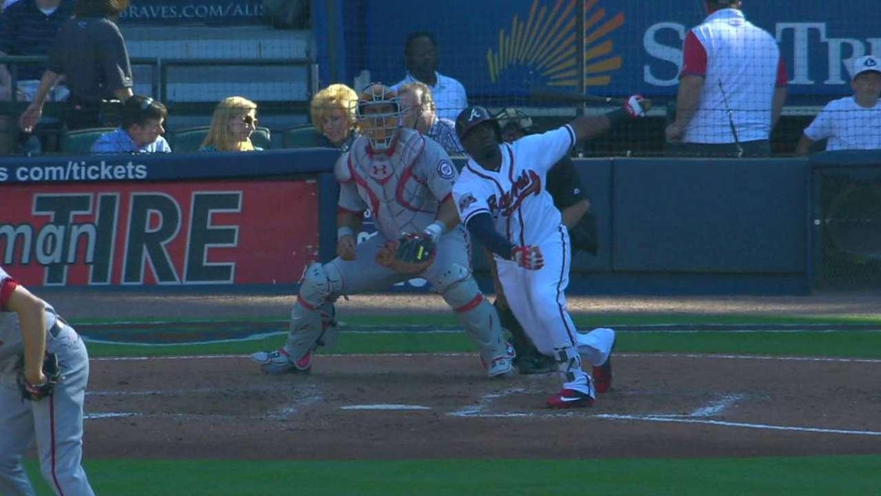 Garcia's solo home run