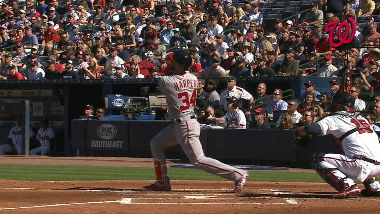 Must C: Harper homers in the 1st