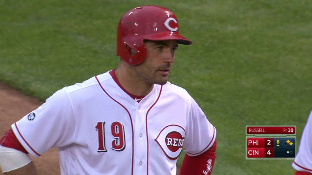 Votto's two-run go-ahead single