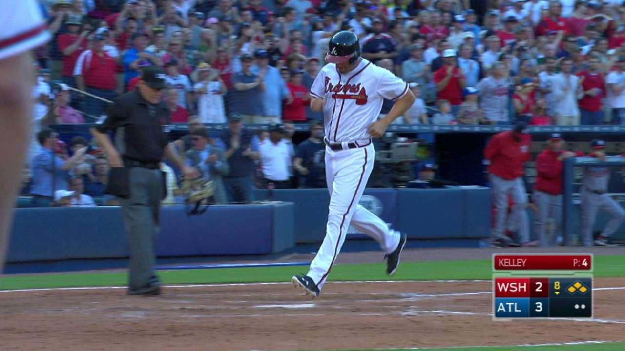 Garcia's bases-loaded walk