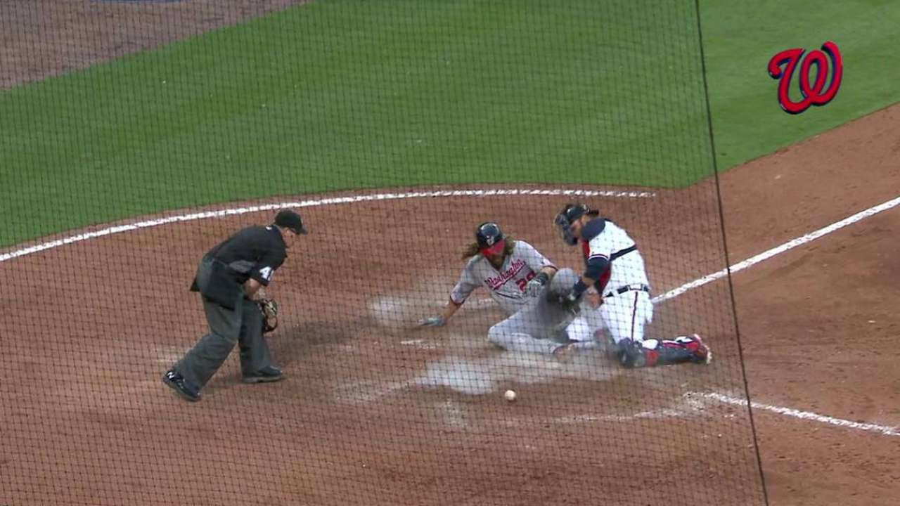 Taylor's game-tying sac fly