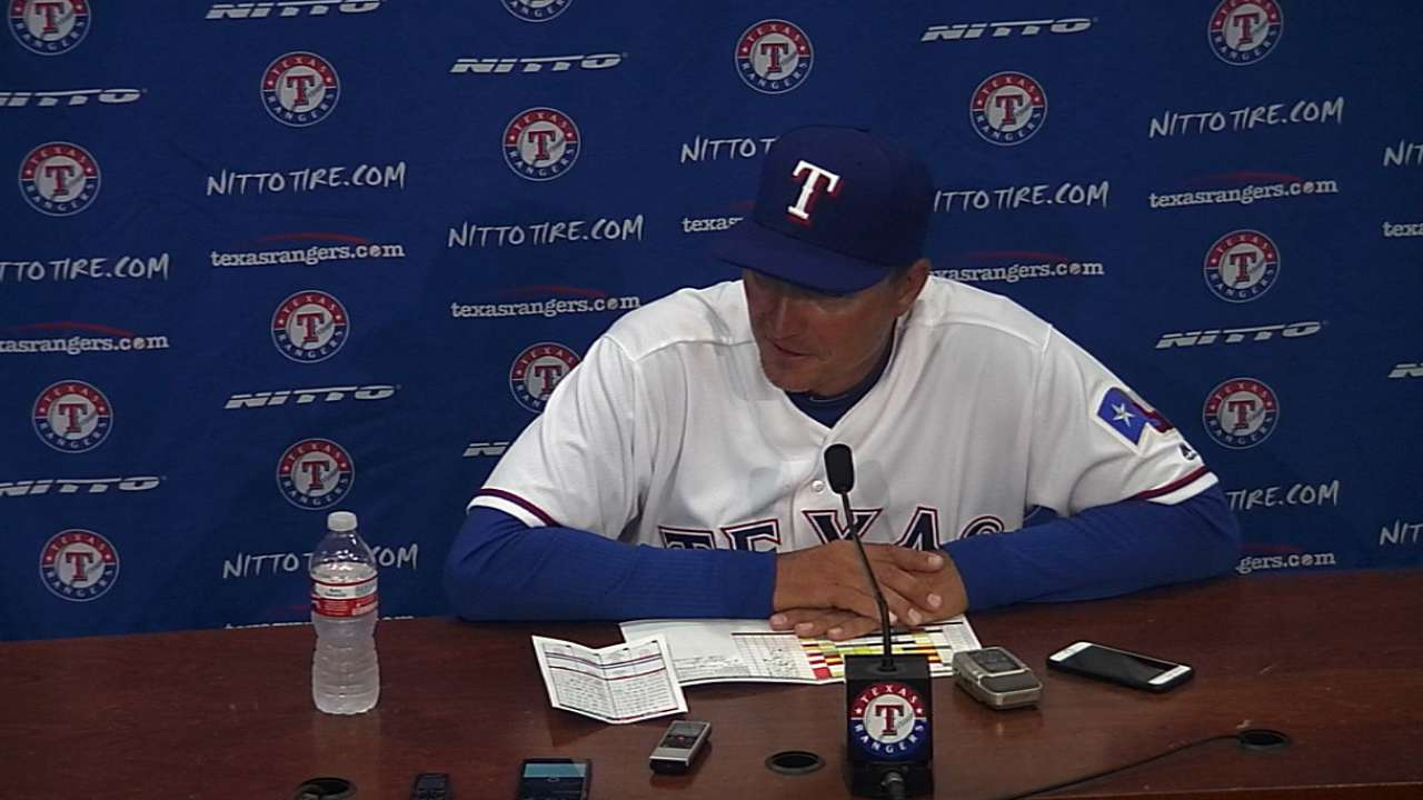 Banister on Opening Day win