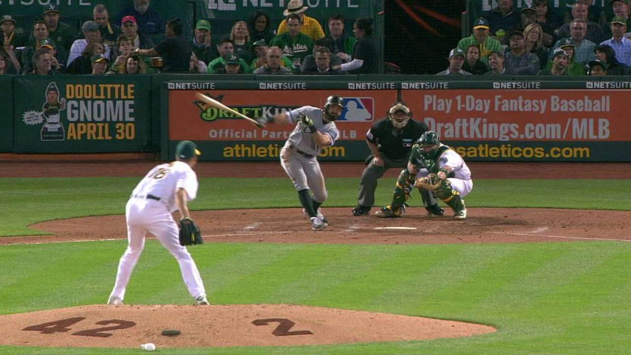 Eaton's RBI triple