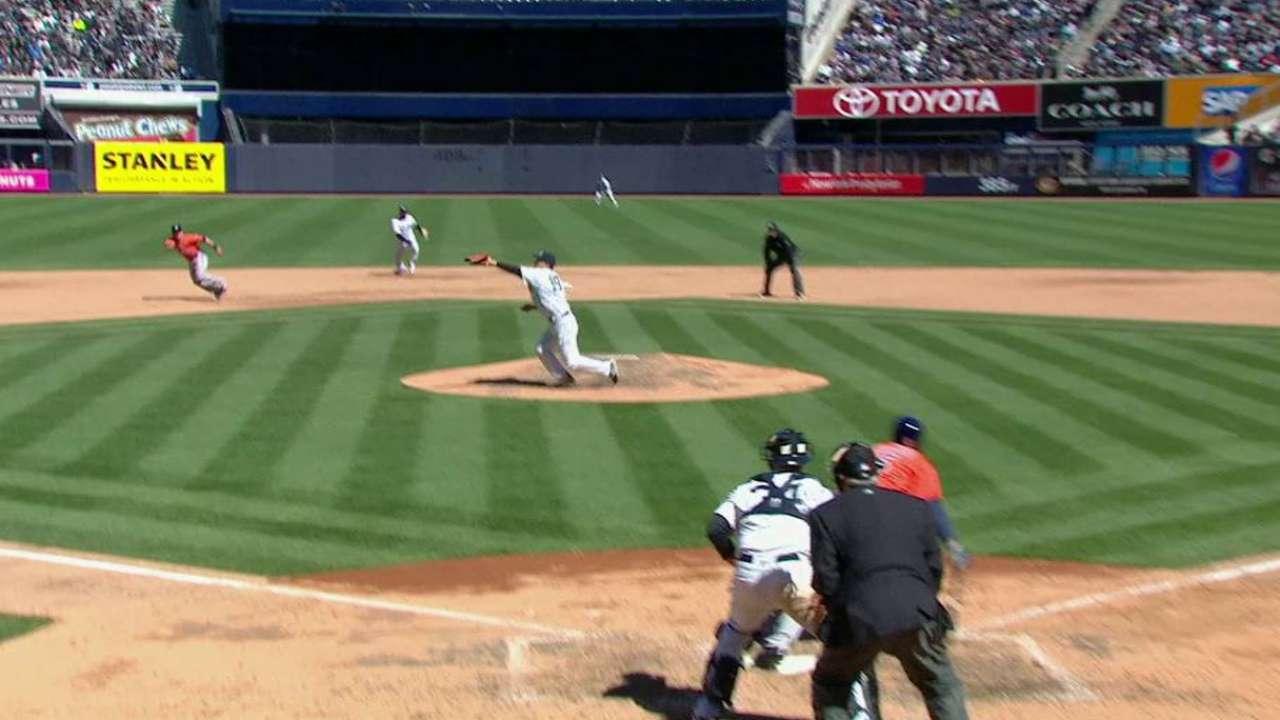 Tanaka's quick play