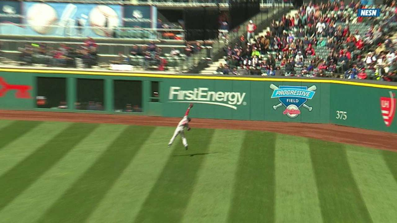 Betts' leaping grab