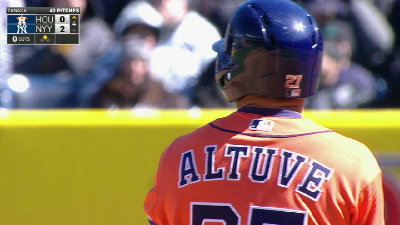 Altuve's ringing double