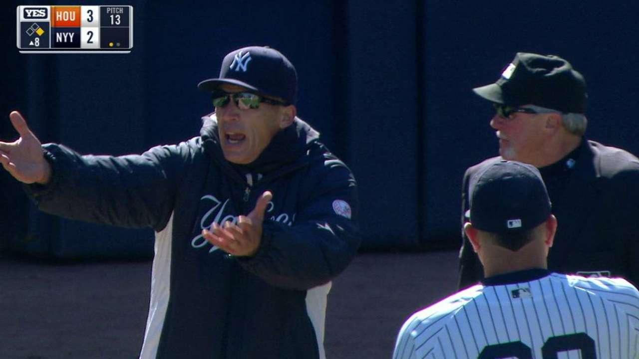Girardi argues play