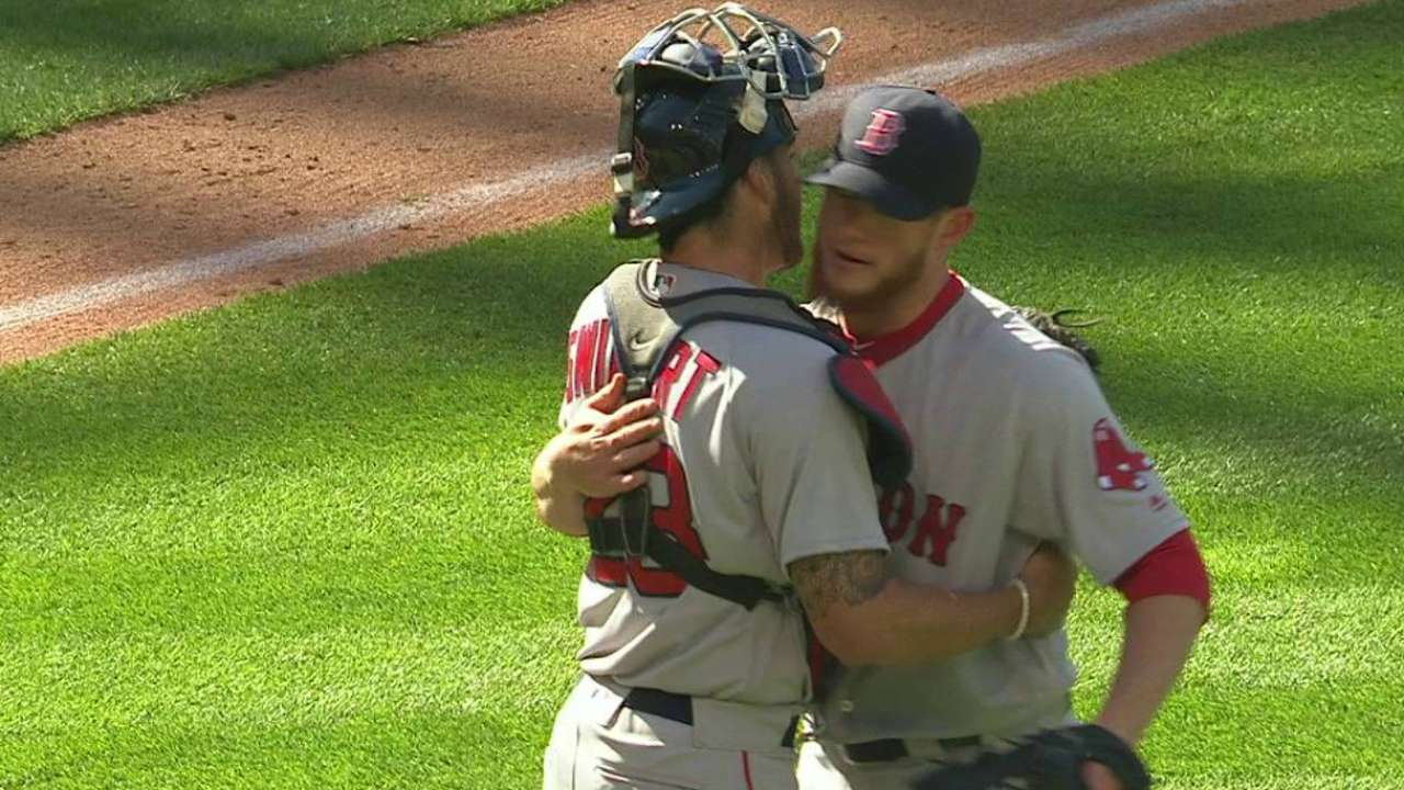 Kimbrel seals win in Sox debut
