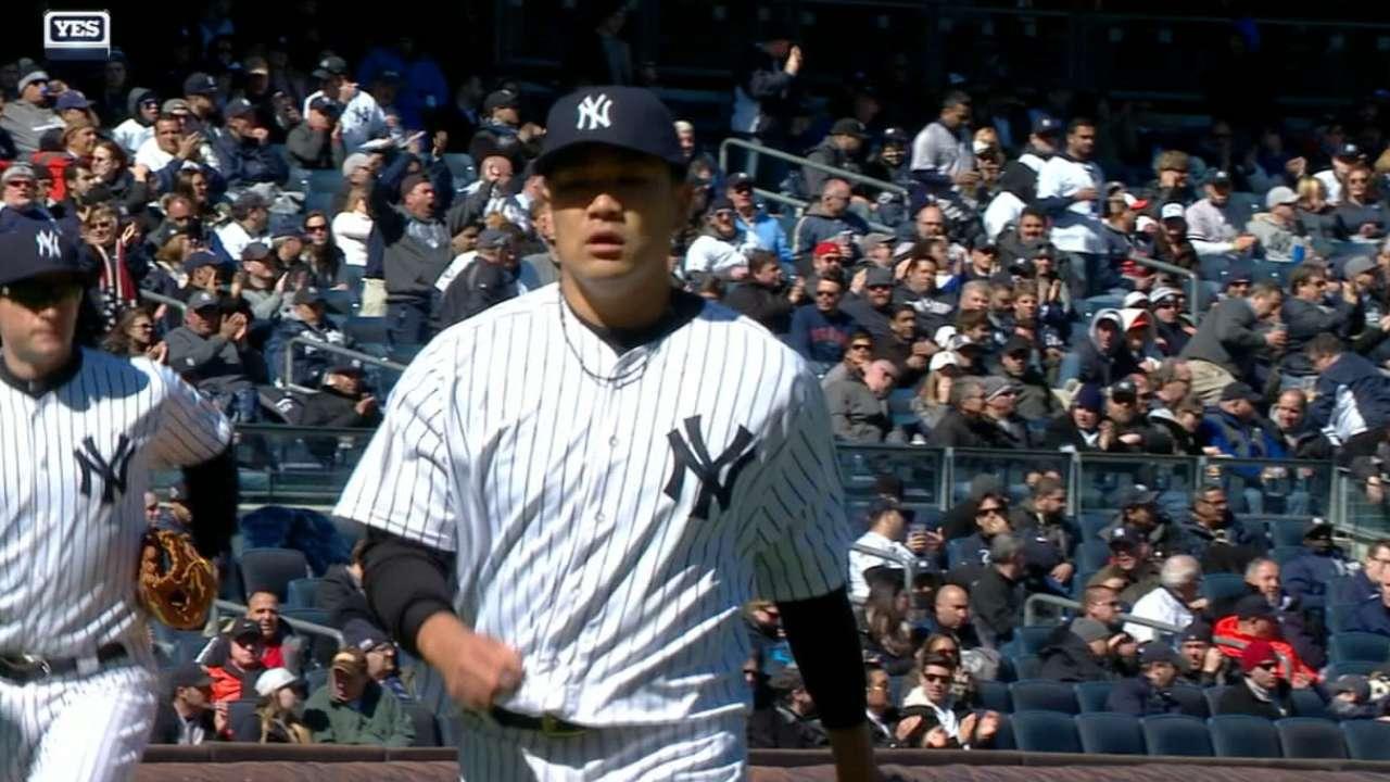 Tanaka goes 5 2/3 innings