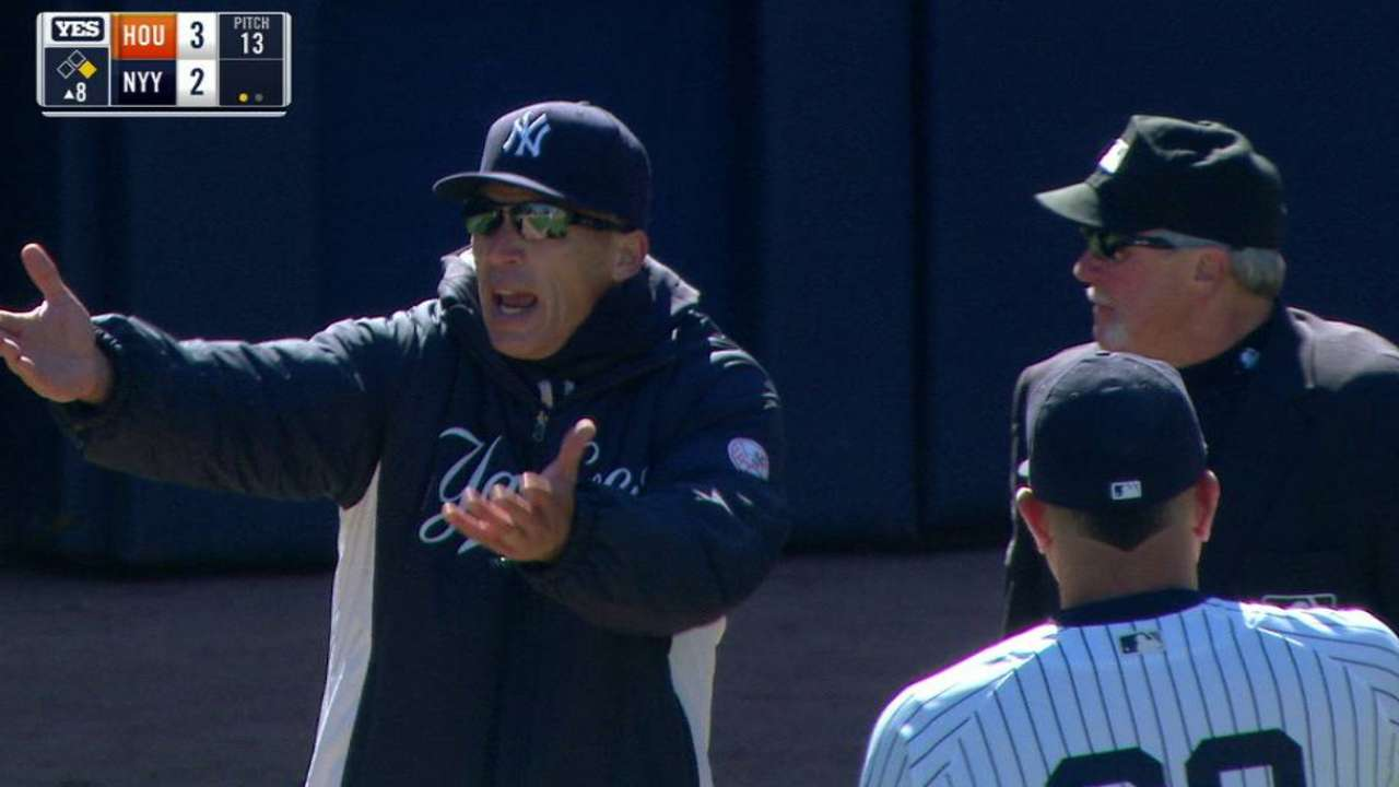 Girardi: No protest papers filed after opener