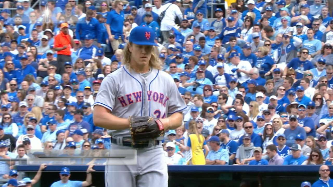 Tenacious Syndergaard carries Mets in KC
