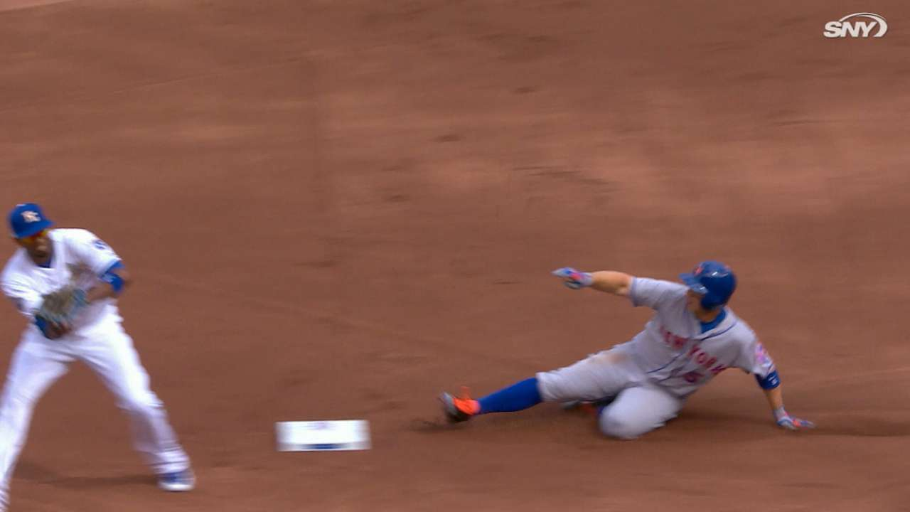 Wright's two stolen bases