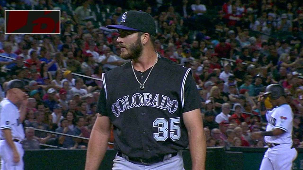 Bettis takes responsibility for Rox loss
