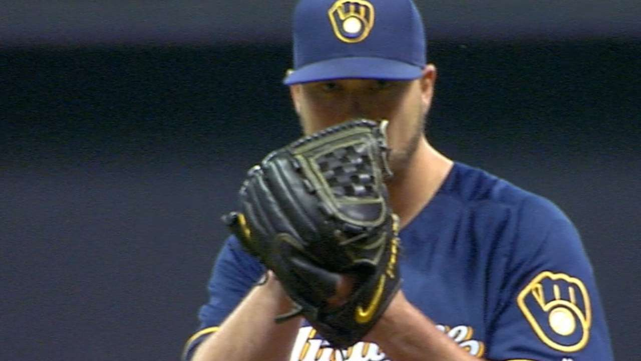 Nelson pitches into the 8th
