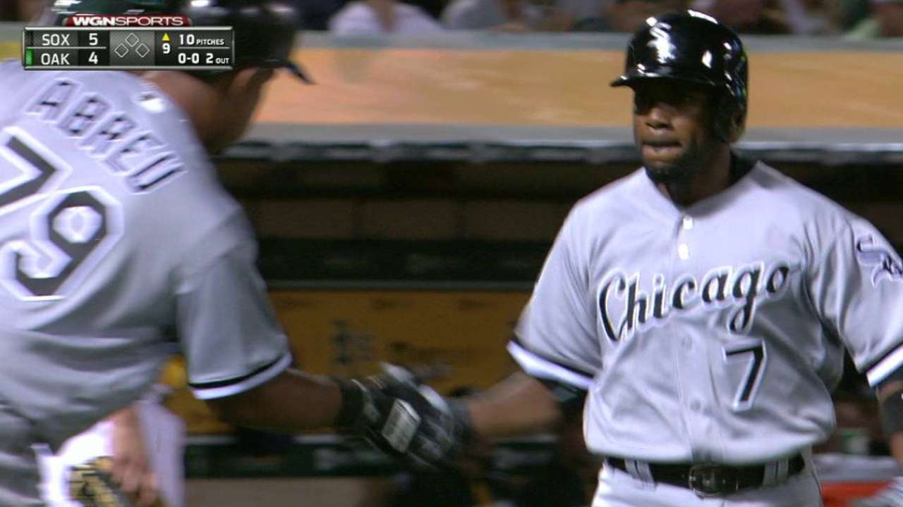 Rollins hits go-ahead home run
