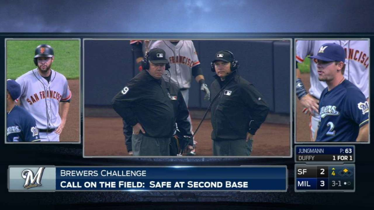 Lucroy nabs Belt after replay