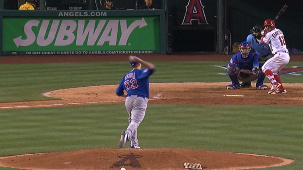 Cubs see endless ways to utilize Cahill