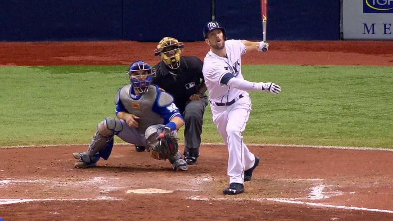 Souza's two homers power Rays to series split