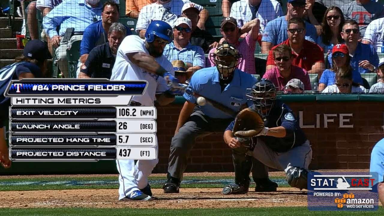 Statcast: Prince's home run