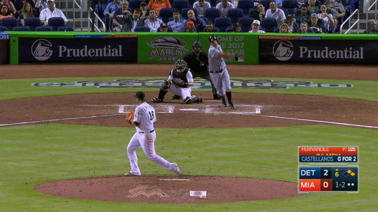 Castellanos' RBI double
