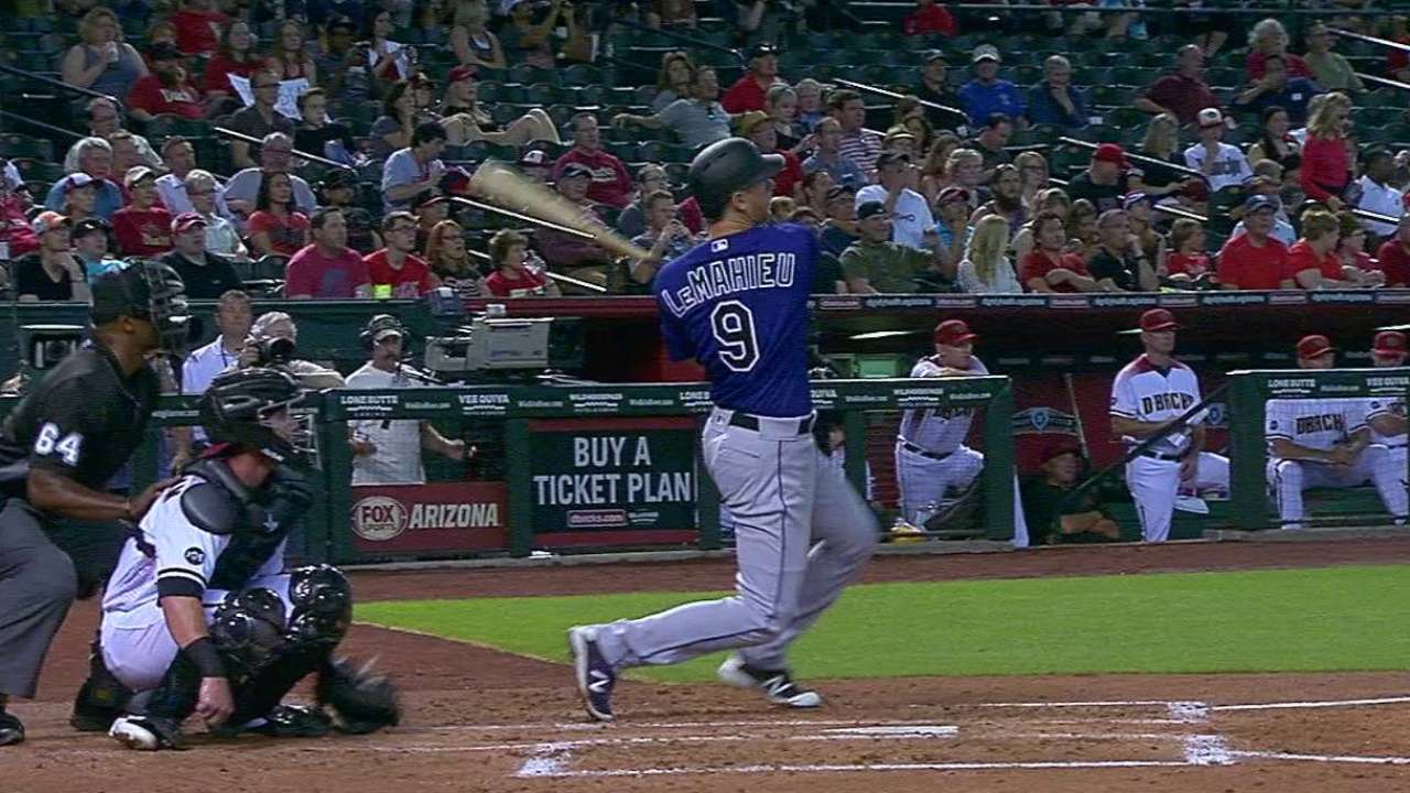 LeMahieu saying right things after double switches