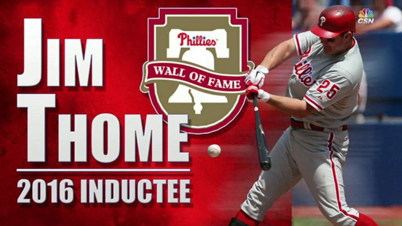 Thome's legacy closely tied to Manuel