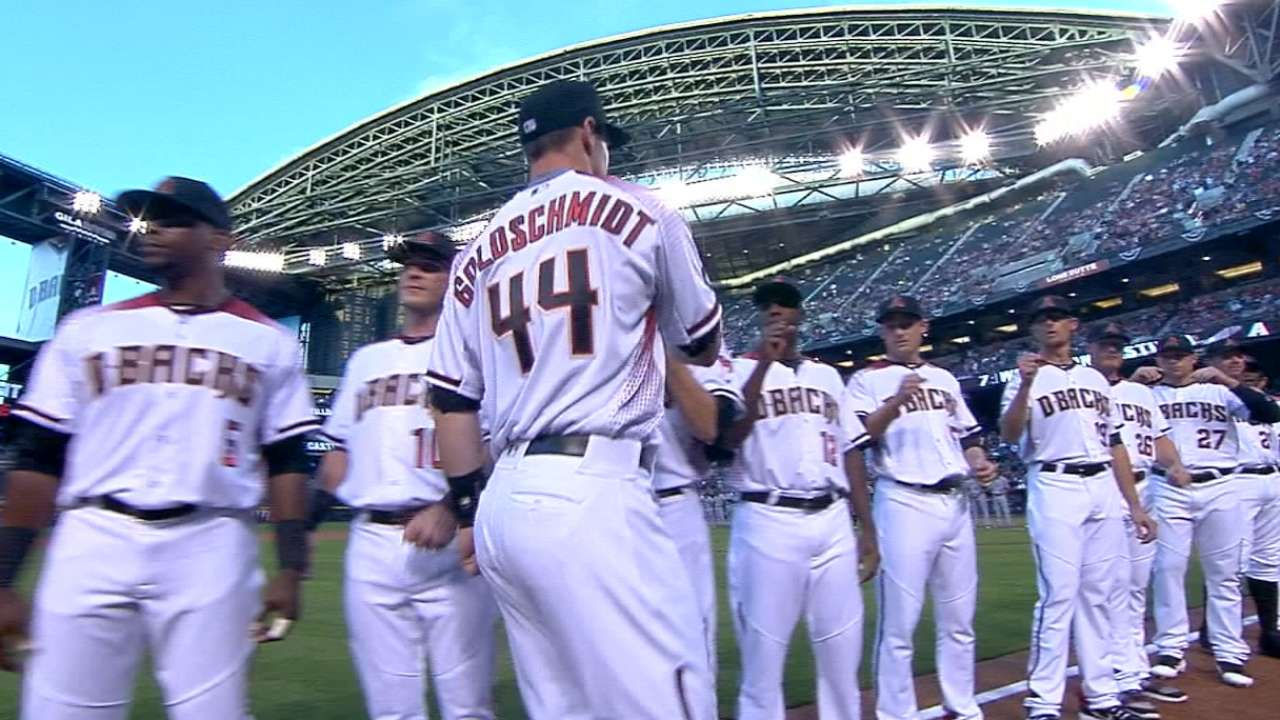 Get an inside look at D-backs Opening Day