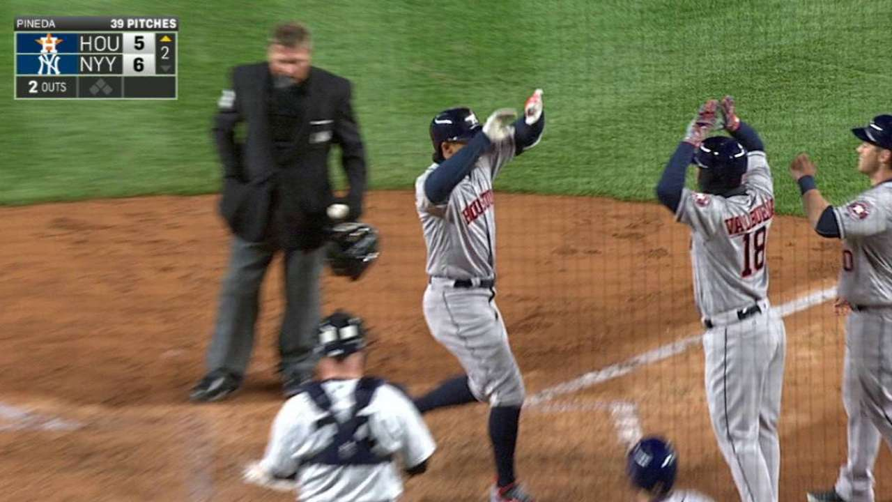 Springer launches grand slam into NY night