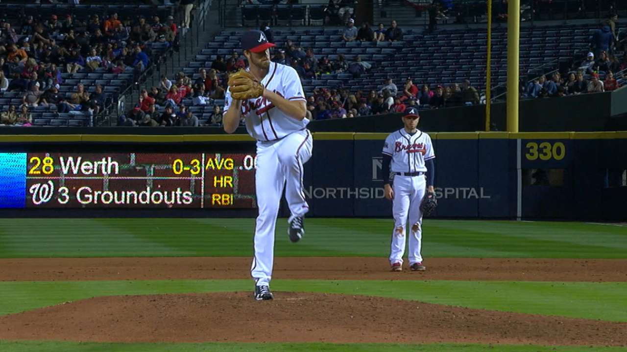 Braves call up Gant, option Weber to Triple-A