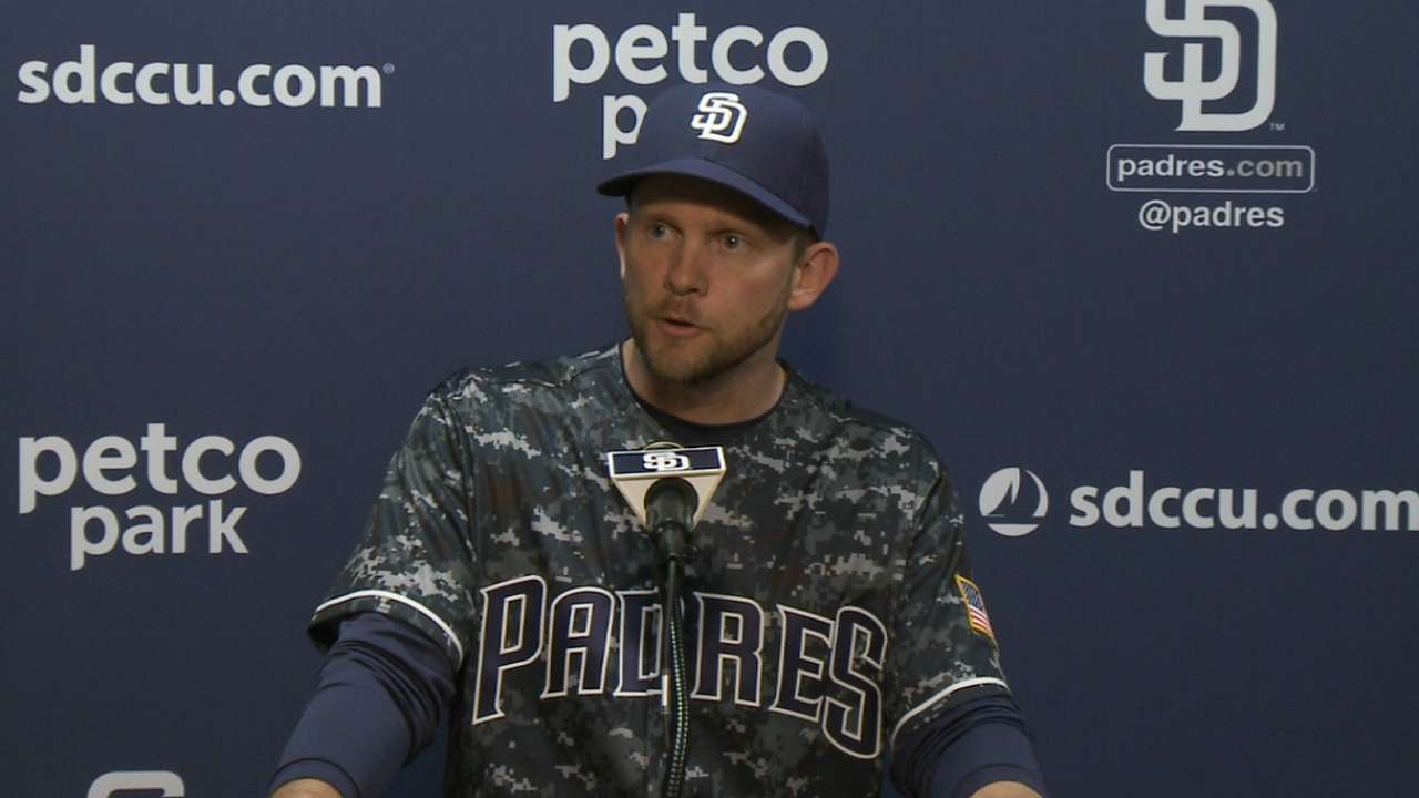 Green on Padres' 7-0 loss