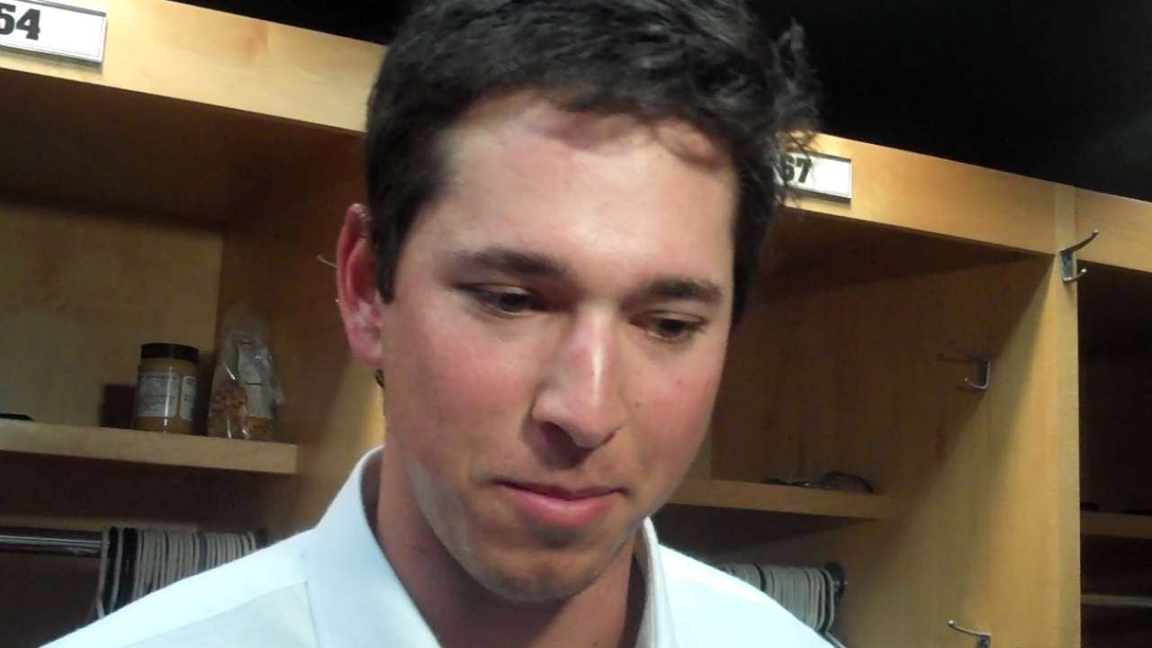 Bowman on his MLB Debut