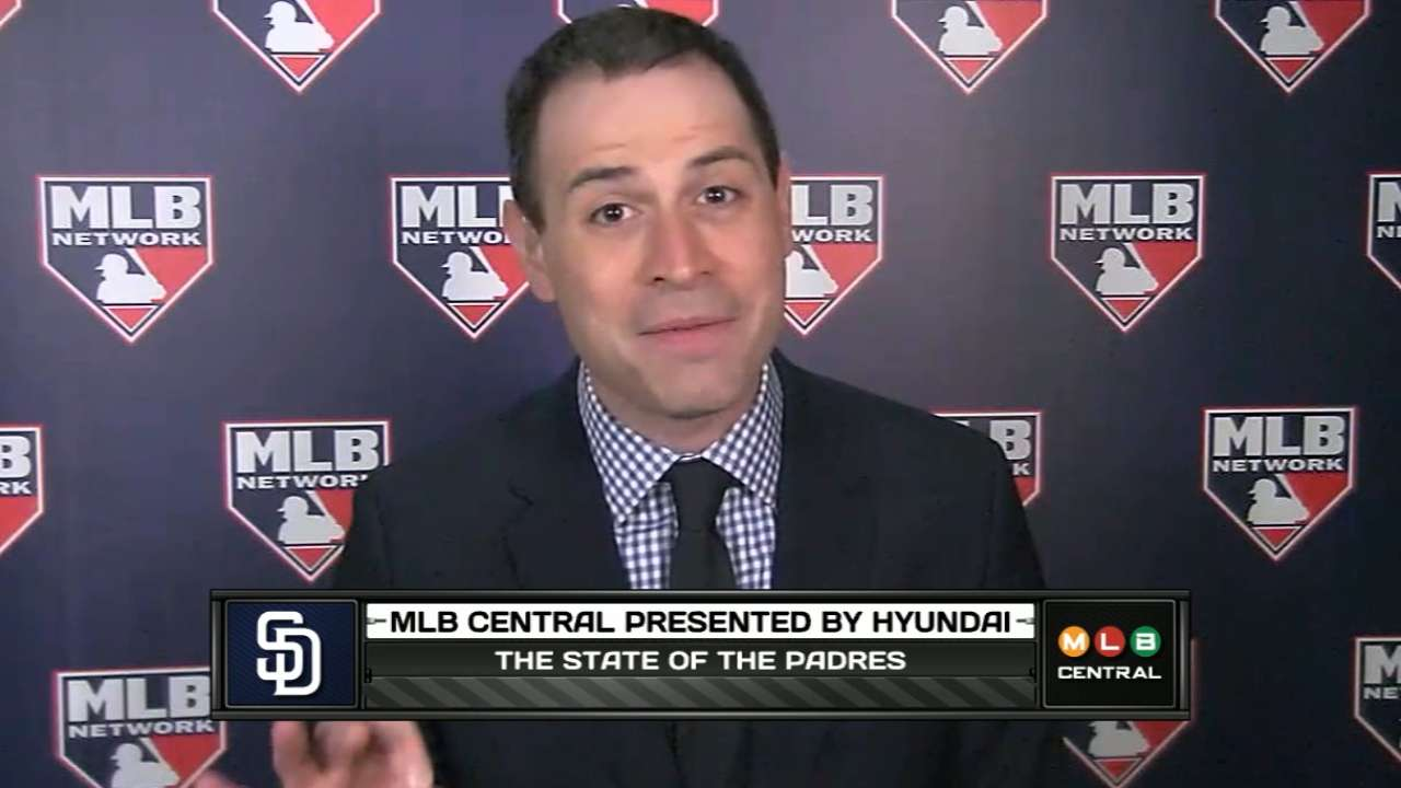 Morosi talks Padres and more