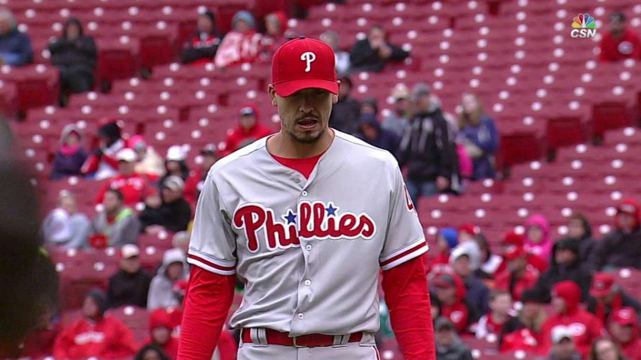Phillies not discouraged by Opening Series