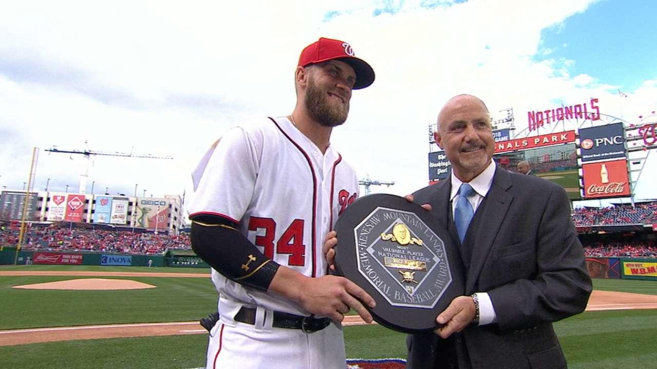 Harper receives awards