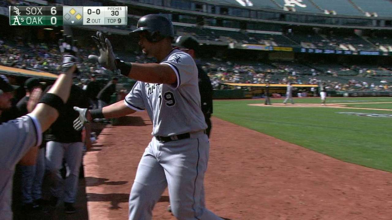 Abreu's sacrifice fly