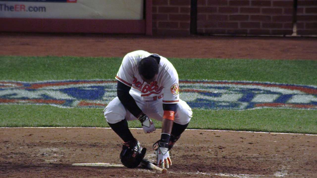 O's Jones sits out due to sore rib cage