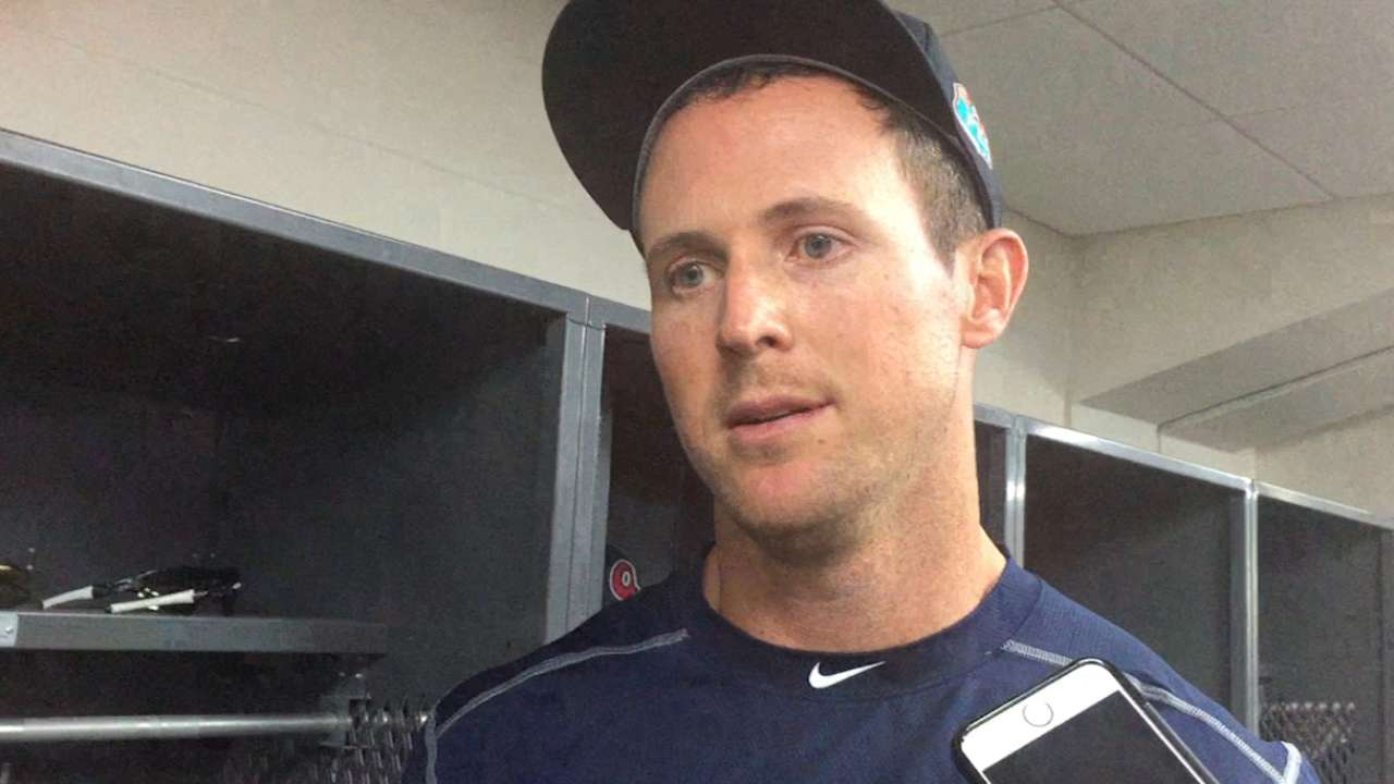 Stubbs begins 3-day audition with Braves