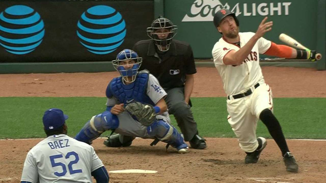 Pence starts Derby campaign with grand slam