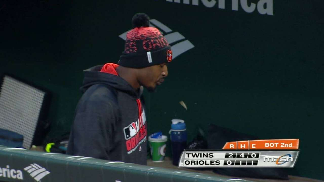 O's give Hardy, Jones more time to recover