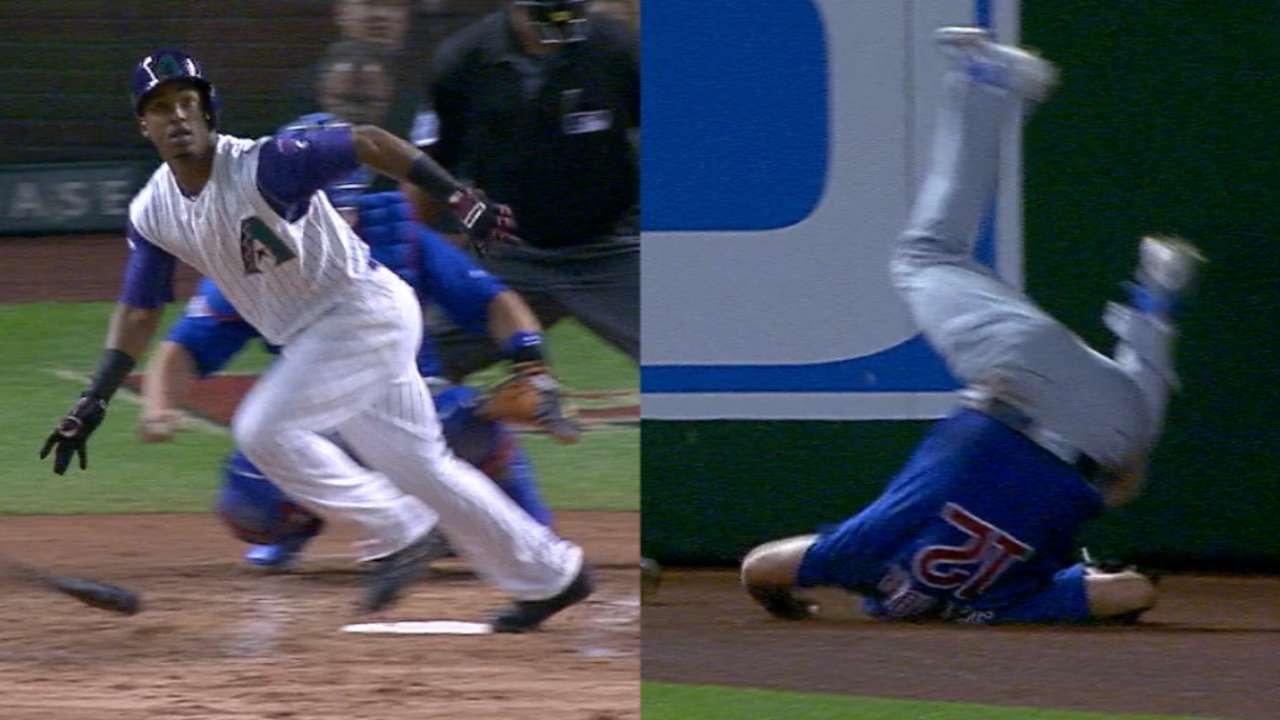 Must C: Segura homers on injury