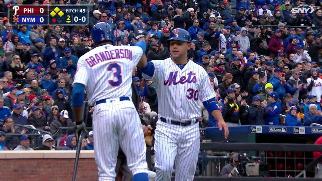deGrom plates Mets' first run