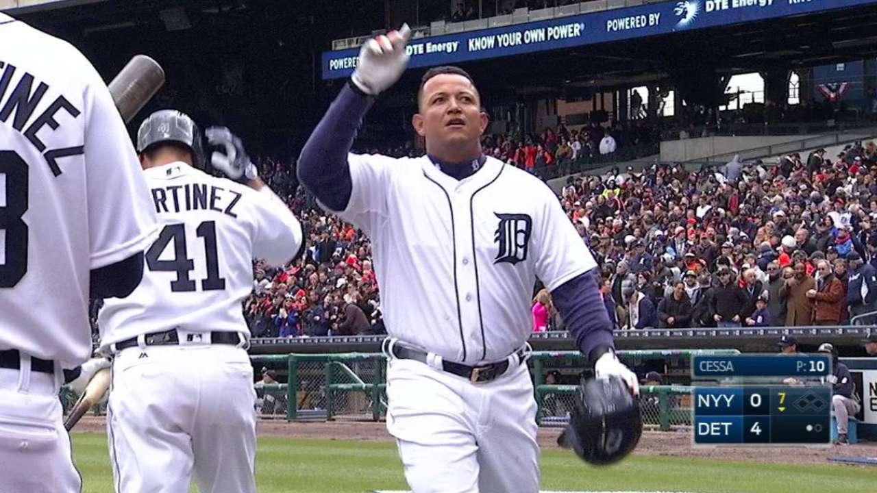 Miggy's solo home run