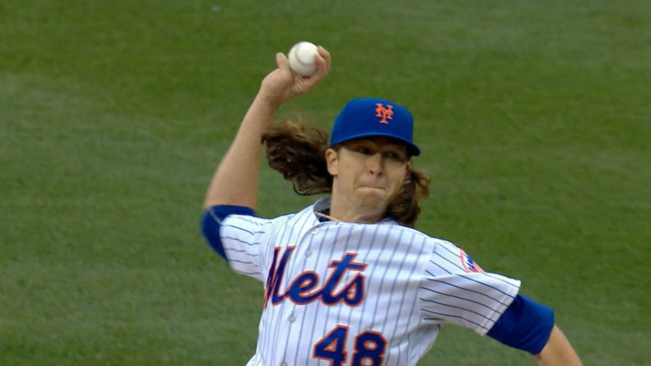 deGrom throws 'pen session, set to start Sunday