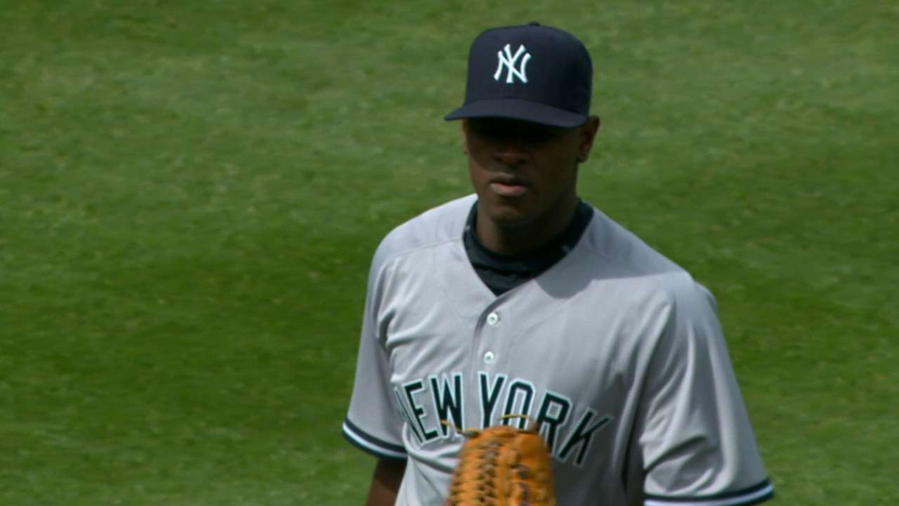 Severino continues trend of sub-six starts
